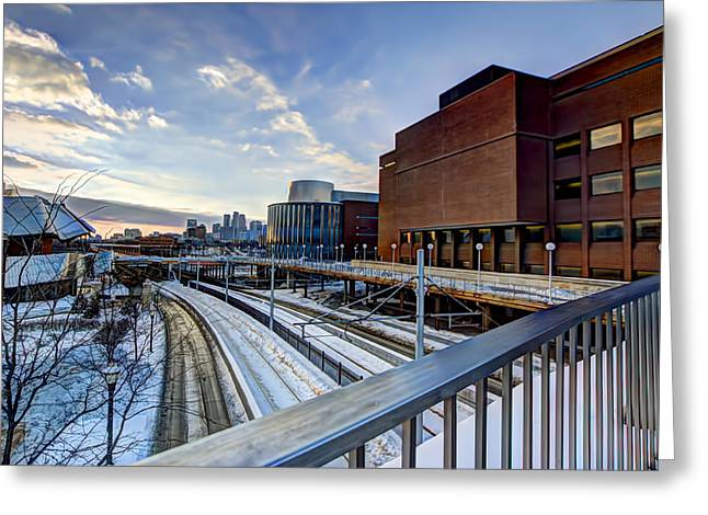 University Of Minnesota Greeting Cards - University of Minnesota Greeting Card by Amanda Stadther