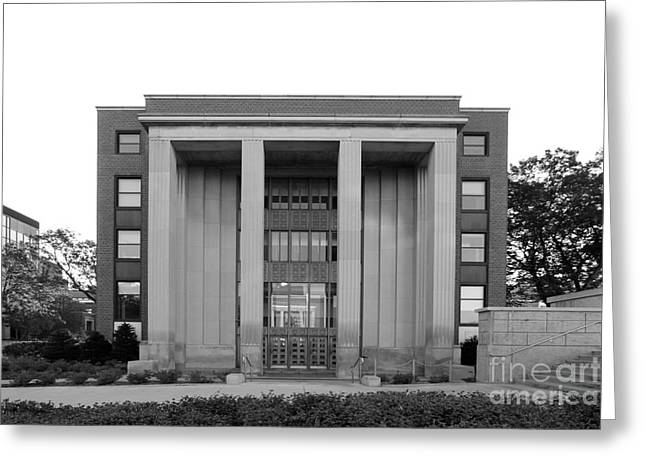 University Of Minnesota Ford Hall Greeting Card by University Icons