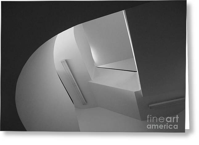 Association Of American Universities Greeting Cards - University of Minnesota Stairwell Greeting Card by University Icons