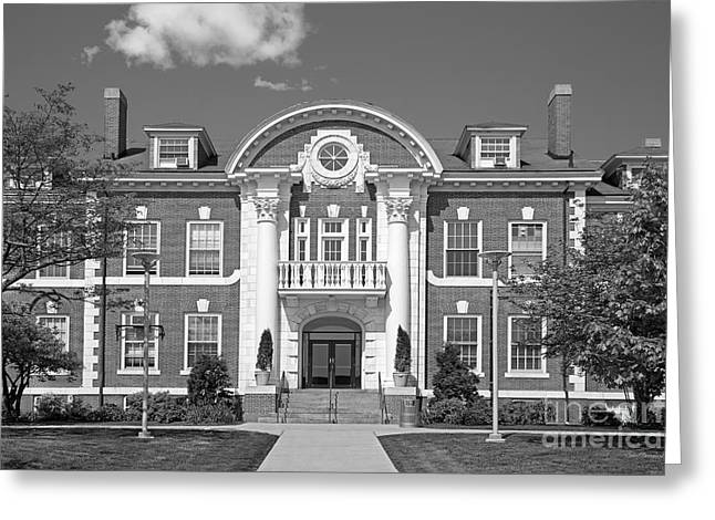 Occasion Greeting Cards - University of New Haven Maxcy Hall Greeting Card by University Icons