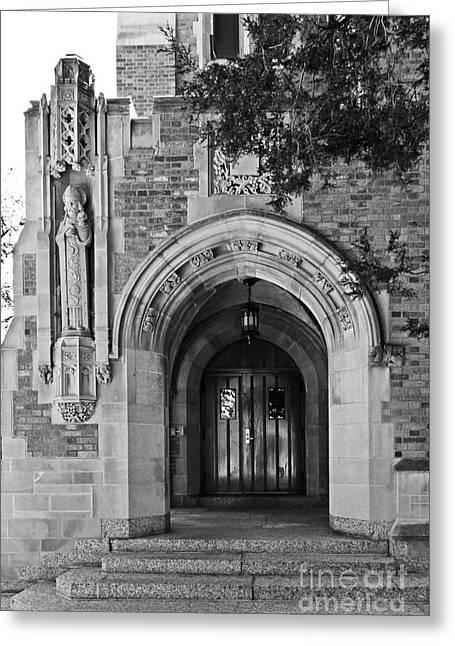 Small Towns Greeting Cards - University of Notre Dame Greeting Card by University Icons
