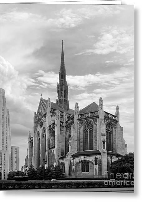 Association Of American Universities Greeting Cards - University of Pittsburgh Heinz Memorial Chapel Greeting Card by University Icons