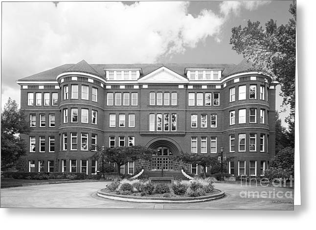 Recently Sold -  - Special Occasion Greeting Cards - University of Portland Waldschmidt Hall Greeting Card by University Icons