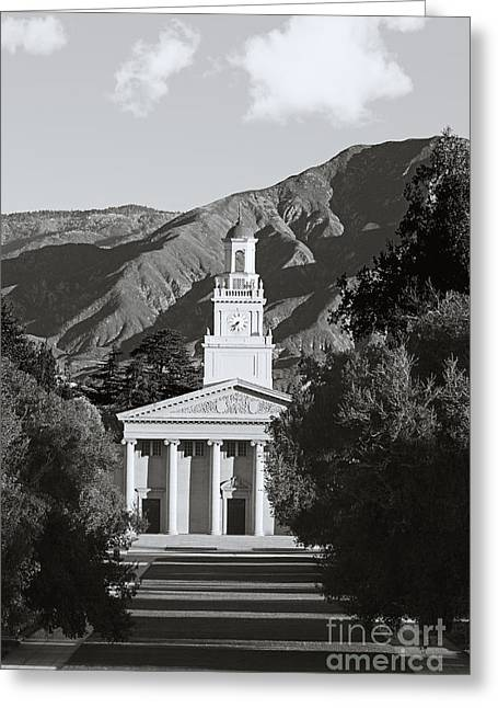 Liberal Arts Greeting Cards - University of Redlands Memorial Chapel Greeting Card by University Icons
