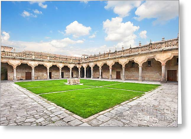 Southern Province Greeting Cards - University of Salamanca Greeting Card by JR Photography