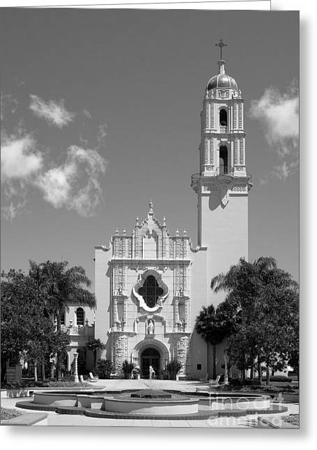 California Images Greeting Cards - University of San Diego The Church of The Immaculata Greeting Card by University Icons