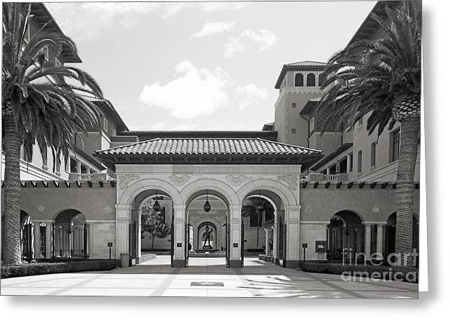 University of Southern California School of Cinematic Arts Greeting Card by University Icons