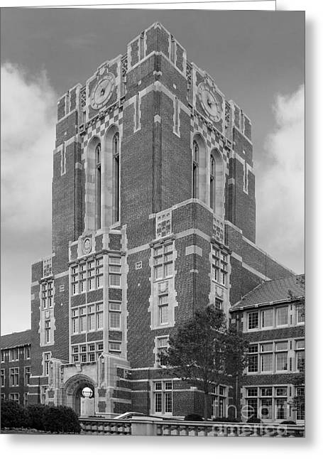 Recognition Greeting Cards - University of Tennessee Ayres Hall Greeting Card by University Icons