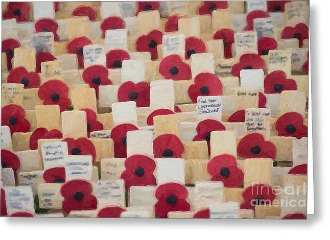 Unknown Greeting Cards - Unknown soldier Greeting Card by Tim Gainey