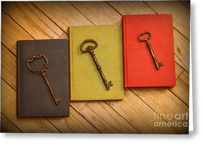 Diane Reed Greeting Cards - Unlock the Mind Greeting Card by Diane Reed