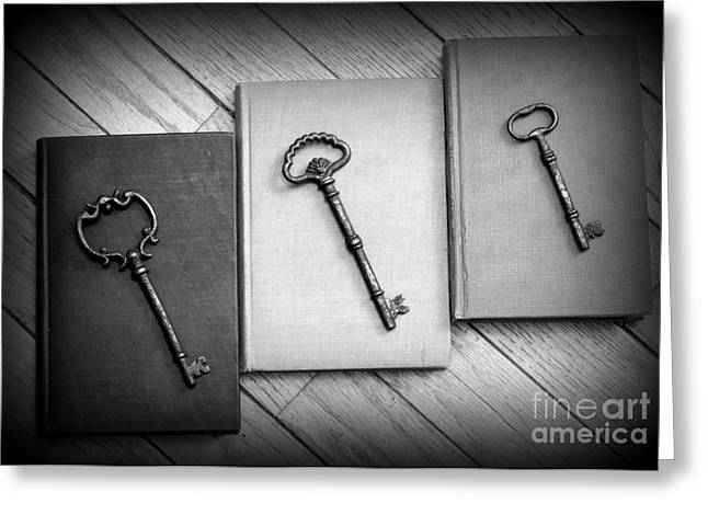 Diane Reed Greeting Cards - Unlocked the Imagination Greeting Card by Diane Reed