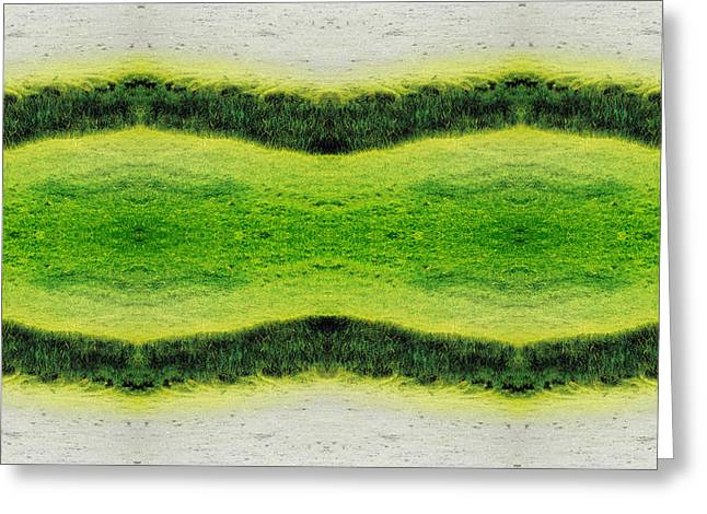 Abstract Digital Photographs Greeting Cards - Unnatural 2.1 Greeting Card by Giovanni Cafagna