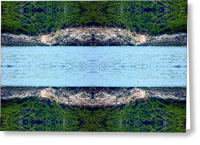 Abstract Digital Photographs Greeting Cards - Unnatural 76 Greeting Card by Giovanni Cafagna