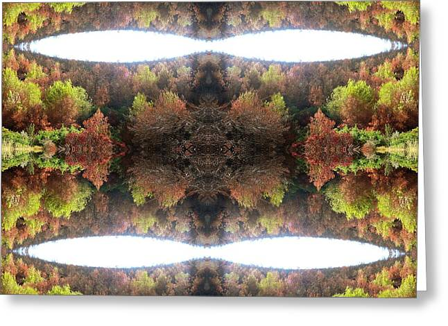 Abstract Digital Photographs Greeting Cards - Unnatural 77.1 Greeting Card by Giovanni Cafagna