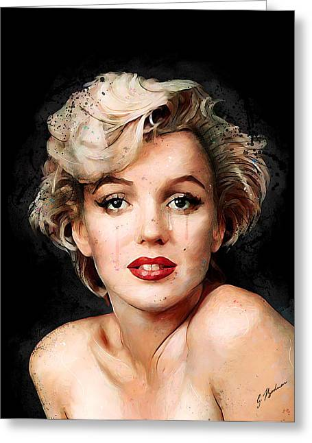 Monroe Greeting Cards - Unraveled Greeting Card by Gary Bodnar