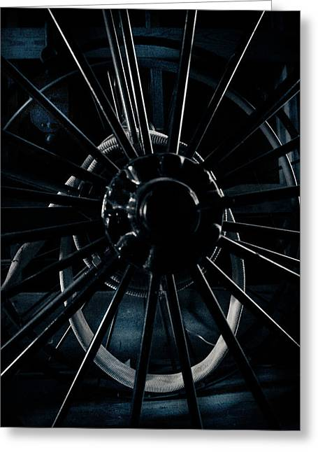 Spokes Greeting Cards - Unspoken Greeting Card by Jessica Brawley