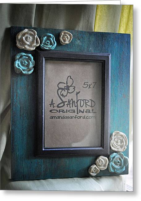 Natural Ceramics Greeting Cards - UnTeal Next Time Greeting Card by Amanda  Sanford