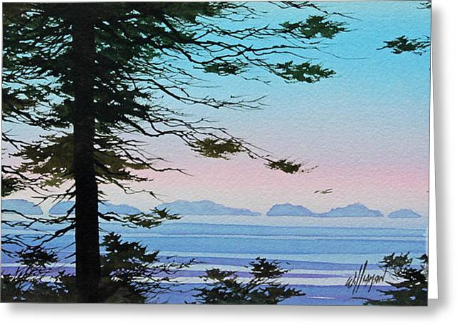 Jersey Shore Paintings Greeting Cards - Until I Saw the Shore Greeting Card by James Williamson