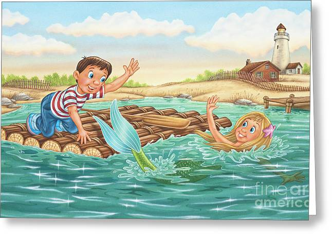 Phil Wilson Greeting Cards - Until Next Summer Greeting Card by Phil Wilson
