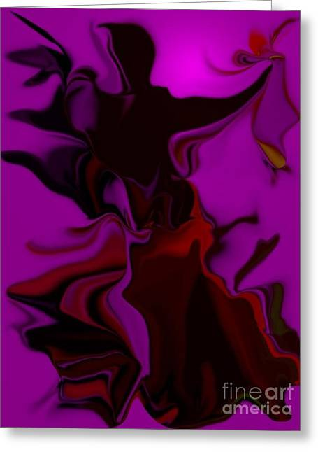 Figures Ceramics Greeting Cards - Fashion Chic Greeting Card by Brenda Doughty