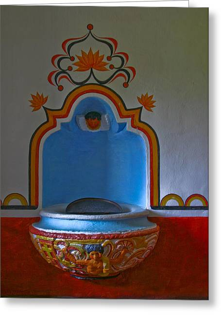 """""""prayer Room"""" Greeting Cards - Untitiled Greeting Card by Ken Shuffield"""