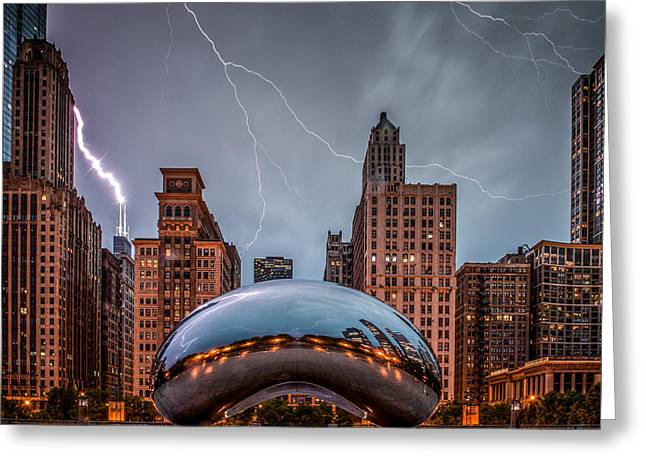 Millennium Park Greeting Cards - Untitled Greeting Card by Cory Dewald