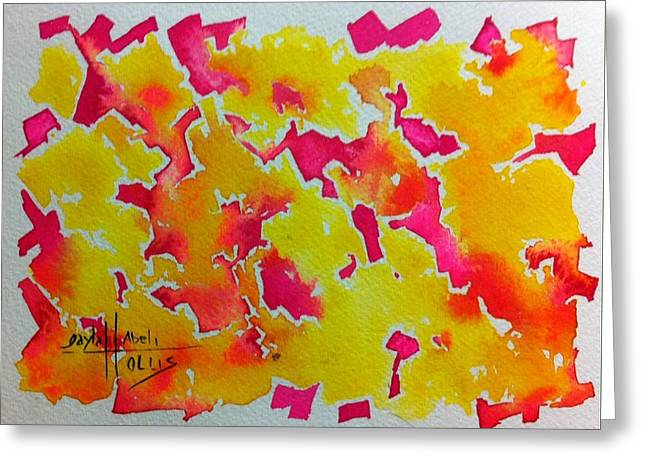 Fauvist Style Greeting Cards - Untitled  Greeting Card by Gayla Abel Hollis