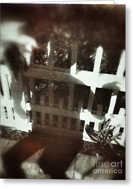 Shadows Greeting Cards - Untitled Greeting Card by HD Connelly