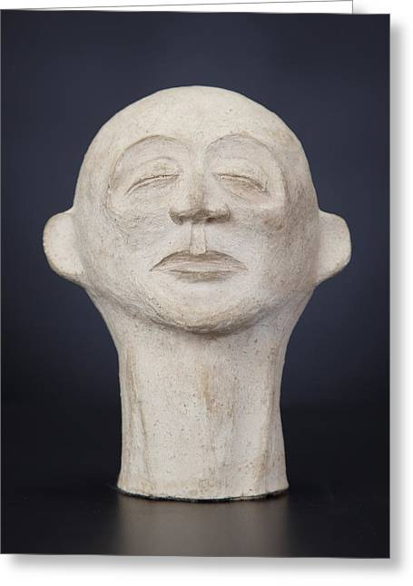 Ceramic Sculptures Greeting Cards - Untitled II Greeting Card by Tom Wright
