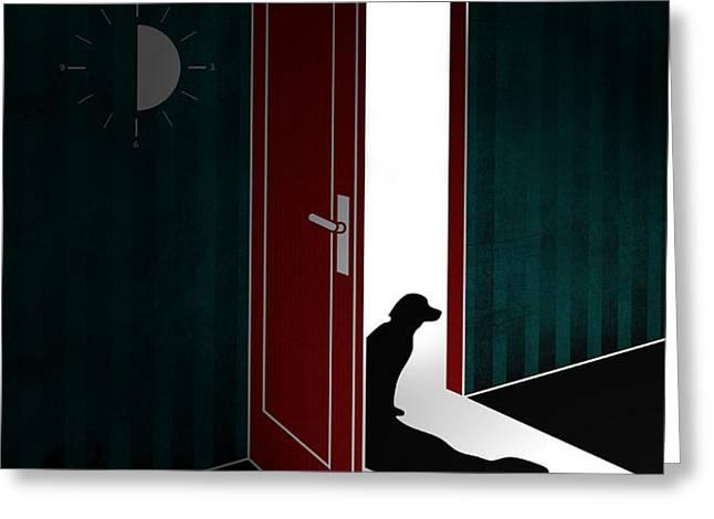 Untitled No.02 Greeting Card by Caio Caldas