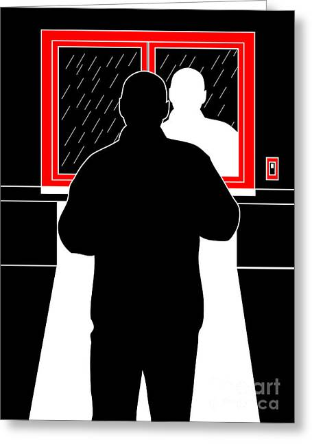 Black Man Digital Art Greeting Cards - Untitled No.11 Greeting Card by Caio Caldas