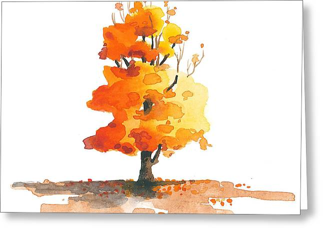 Tree Greeting Cards - Unveiling Greeting Card by Christine Camp
