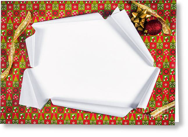 Revealing Greeting Cards - Unwrapping Gifts Greeting Card by Carlos Caetano