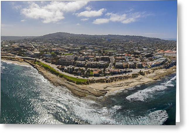 Southern California Greeting Cards - Up at La Jolla Greeting Card by Scott Campbell