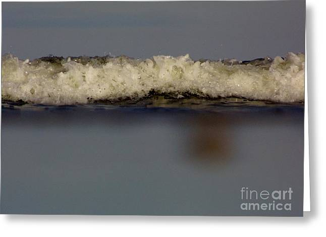 Best Ocean Photography Greeting Cards - Up Close to the Ocean Greeting Card by D Hackett