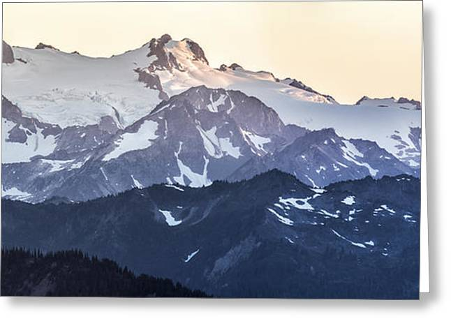 Olympic National Park Greeting Cards - Up in the Mountains Greeting Card by Jon Glaser