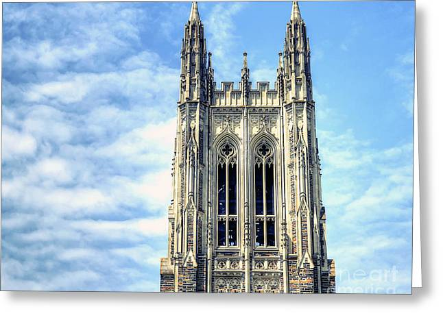 Duke Greeting Cards - Up in the Sky Greeting Card by Emily Kay