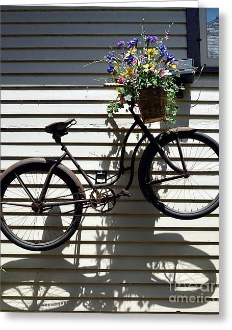 Spokes Greeting Cards - Up Up And Away Greeting Card by Mel Steinhauer