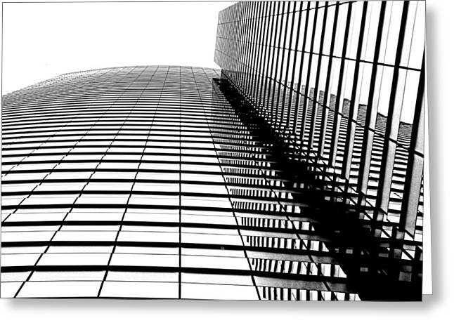 Architectur Greeting Cards - Up up and away Greeting Card by Tammy Espino