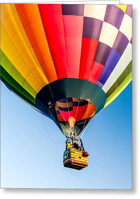 Weightless Greeting Cards - Up Up and Away Greeting Card by Teri Virbickis