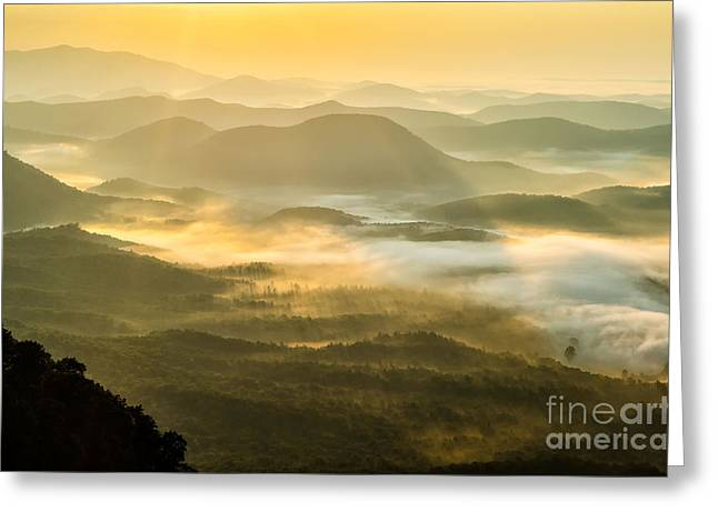 Peaceful Scenery Greeting Cards - Sunburn Greeting Card by Anthony Heflin
