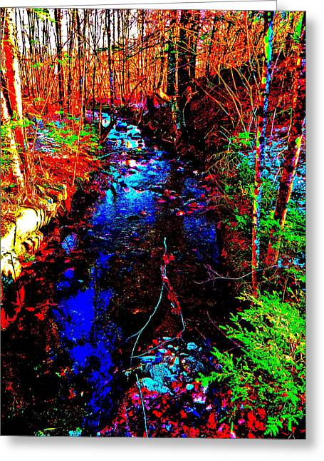Tree Roots Greeting Cards - Upland Trail 2014 218 Greeting Card by George Ramos
