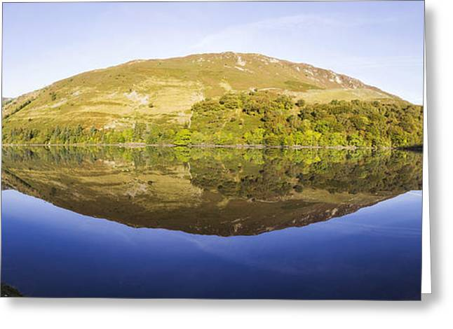 Wales Framed Prints Greeting Cards - Upon Reflection Greeting Card by Ian Mitchell
