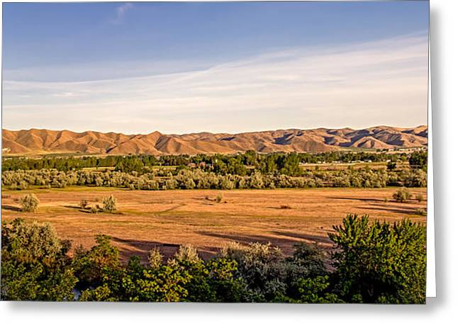 Landsacape Greeting Cards - Upper Emmett Valley Greeting Card by Robert Bales