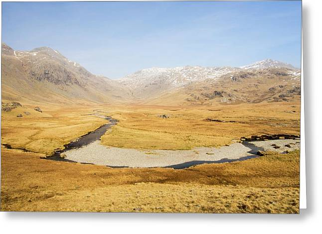 Upper Esk Valley Greeting Card by Ashley Cooper