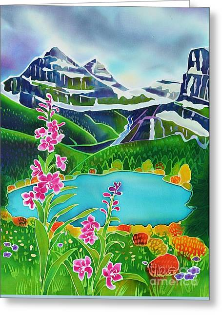Montana Landscape Art Greeting Cards - Storm Brewing in the High Country Greeting Card by Harriet Peck Taylor