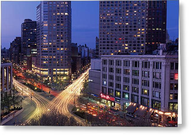 Midtown Greeting Cards - Upper West Side, Nyc, New York City Greeting Card by Panoramic Images