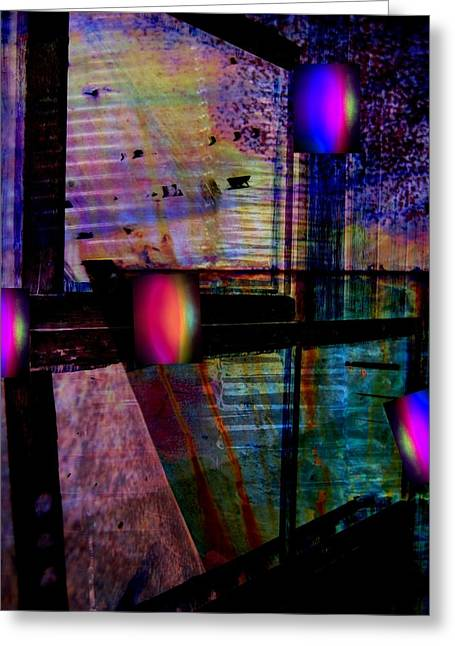 Urban Complexities Greeting Card by Shirley Sirois