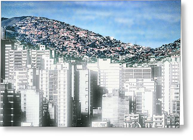 Geographic Location Greeting Cards - Urban Daylight Greeting Card by Kellice Swaggerty