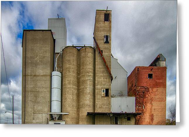 Maltings Greeting Cards - Urban Decay  7D08362 Greeting Card by Guy Whiteley